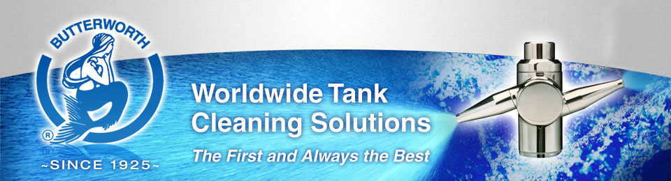 Tank Cleaning & Washing Machines, Equipment & Systems - Butterworth